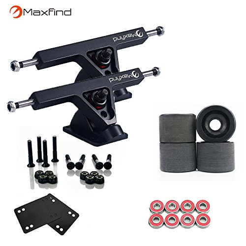 (Maxfind Major Upgrade Longboard Skateboard Package Combo with 7