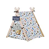 Free Love@New triangle design animal printing Pet Kennels Pet Play House Dog Play Tent Cat /Dog Bed with cushion