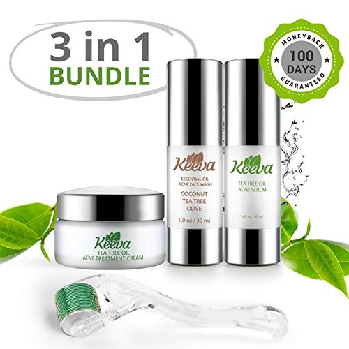 Get The Clear, Acne-FREE Skin You Deserve In Just 3 Days! With Keeva's
