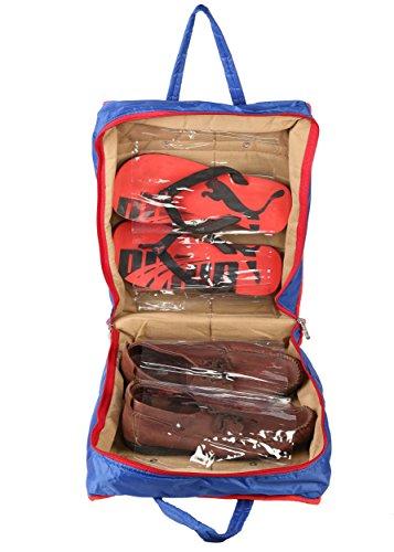 SuiDhaga Shoe Bag Organiser  Upto 6 Pairs of Shoes   Slippers