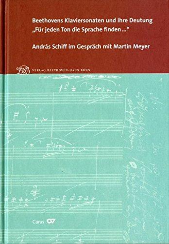 Beethovens Klaviersonaten und ihre Deutung.