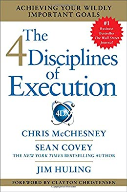 The 4 disciplines of execution- business books