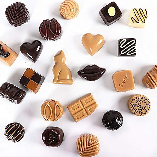 kuiyhd Simulación Chocolate Nevera Pasta Casero Decoración Pasta ...