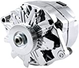 Allstar Performance ALL80505 GM Single Wire Chrome Alternator