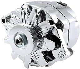 Allstar Performance ALL80505 GM Single Wire Chrome Alternator