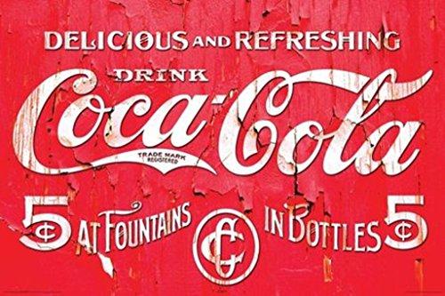 NMR 241019 Cocacola Logo Decorative Poster