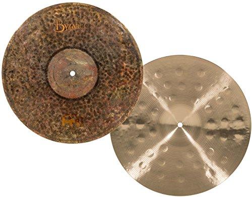Meinl Cymbals B15EDMTH Byzance Extra Dry 15-Inch Medium Thin Hi Hat Cymbal Pair (Meinl Hi Hat Cymbals)