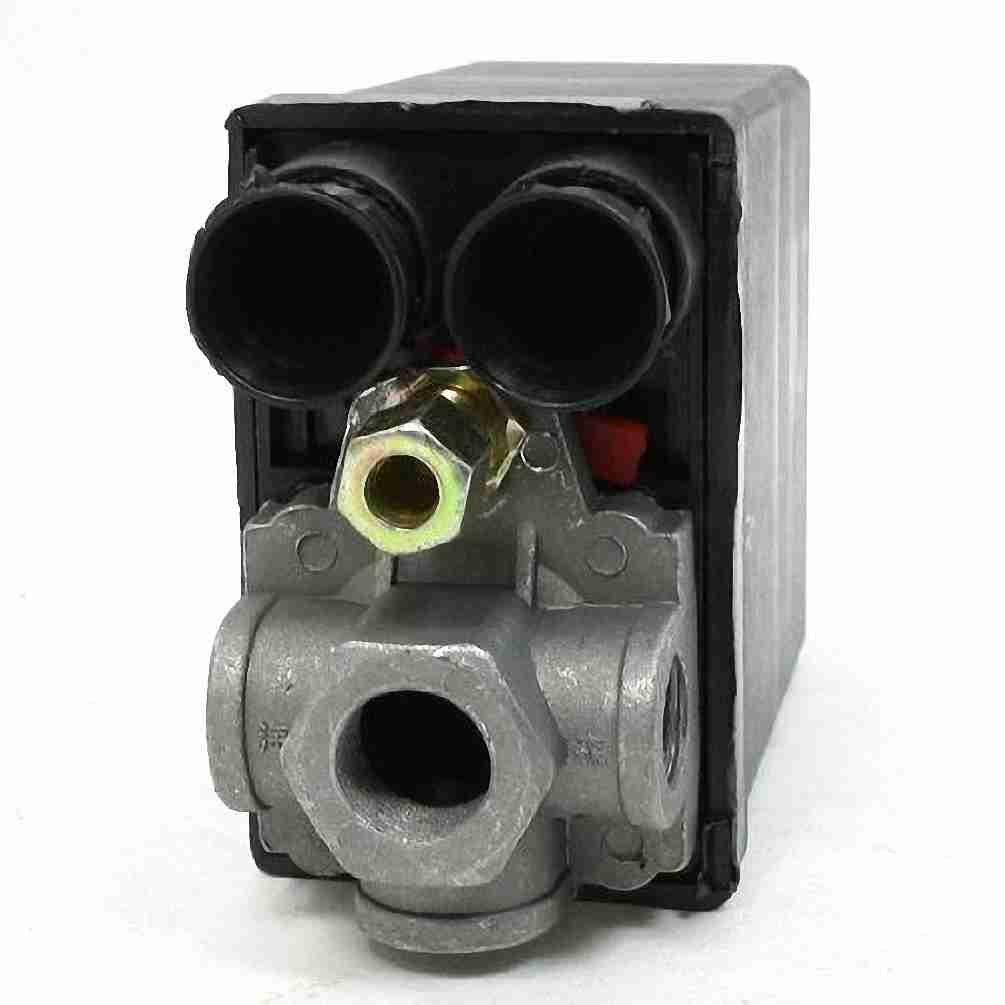 TTcity 175PSI 12bar 4 puertos válvula reguladora Presostato para compresor de aire: Amazon.es: Bricolaje y herramientas
