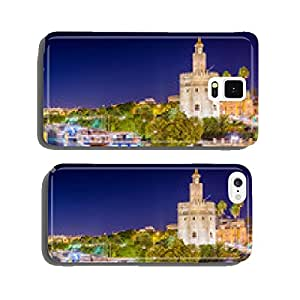 Seville, Spain at the Torre de Oro on the Guadalquivir River. cell phone cover case iPhone6 Plus