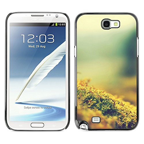 Soft Silicone Rubber Case Hard Cover Protective Accessory Compatible with SAMSUNG GALAXY NOTE 2 & N7100 - Plant Nature Forrest Flower 8