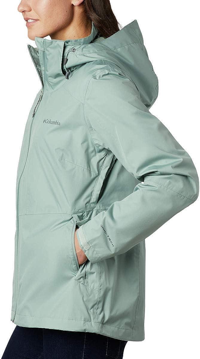 COLUMBIA DAMEN JACKE Jacket Gr.XL (DE 44) Convert Omni Tech