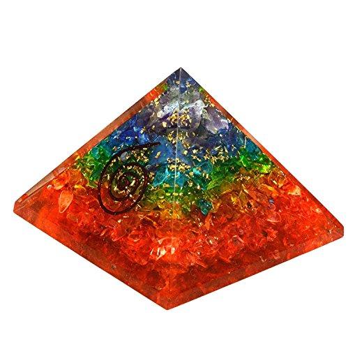 Jet International Rainbow Pyramid Gemstones