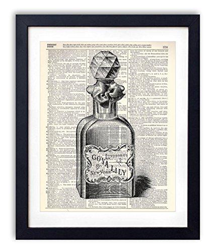 vintage-perfume-bottle-illustration-1-dictionary-art-print-8x10
