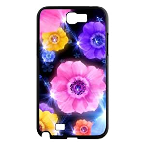 Petals Personalized Cover Case for Samsung Galaxy Note 2 N7100,customized phone case ygtg517499