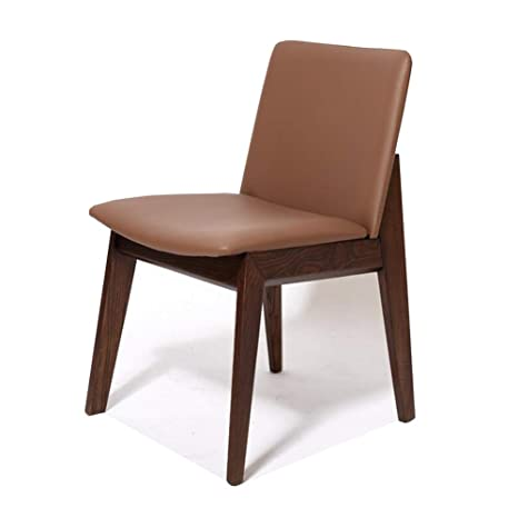 Amazon.com - QQXX Chairs, Dining Side, Linen/PU Padded Foam ...