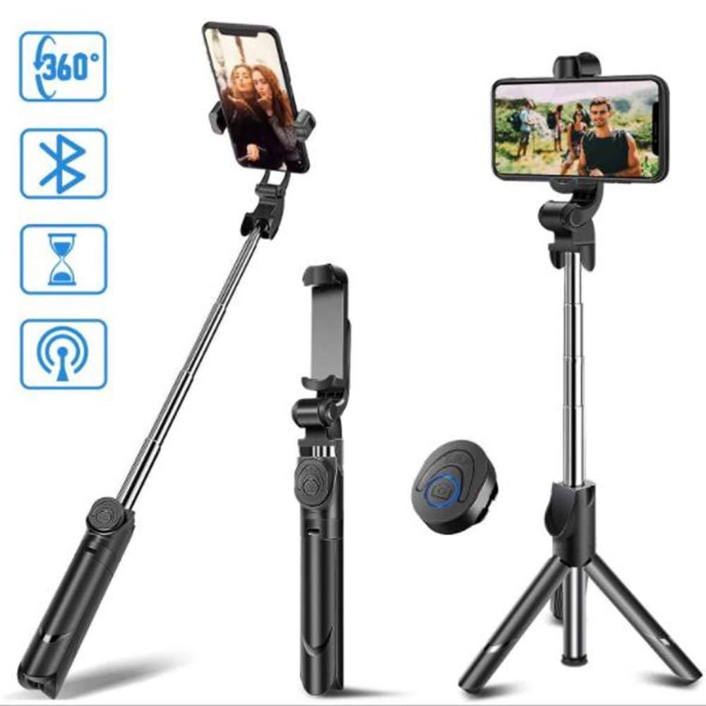 CGY Handy Stativ Kamera Stativ Aluminium-Leichtbau Smartphone Stativ f/ür iPhone//Samsung//Huawei GoPro und Kamera mit Bluetooth-Fernbedienung Tragetasche und GoPro-Halterung