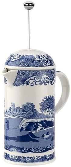 Spode Cafetera Italiana Blue 28 oz: Amazon.es: Hogar