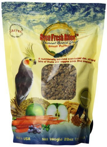 Oven Fresh Bites Baked Avian Diet Small Parred 28 oz. bag by Caitec Corp