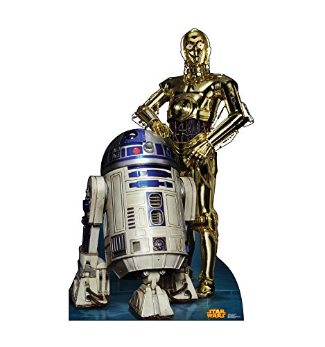 Advanced Graphics R2D2 & C3PO Life Size Cardboard