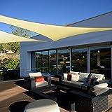 Coarbor 12' x 12' x 12' Triangle Grey UV Block Sun