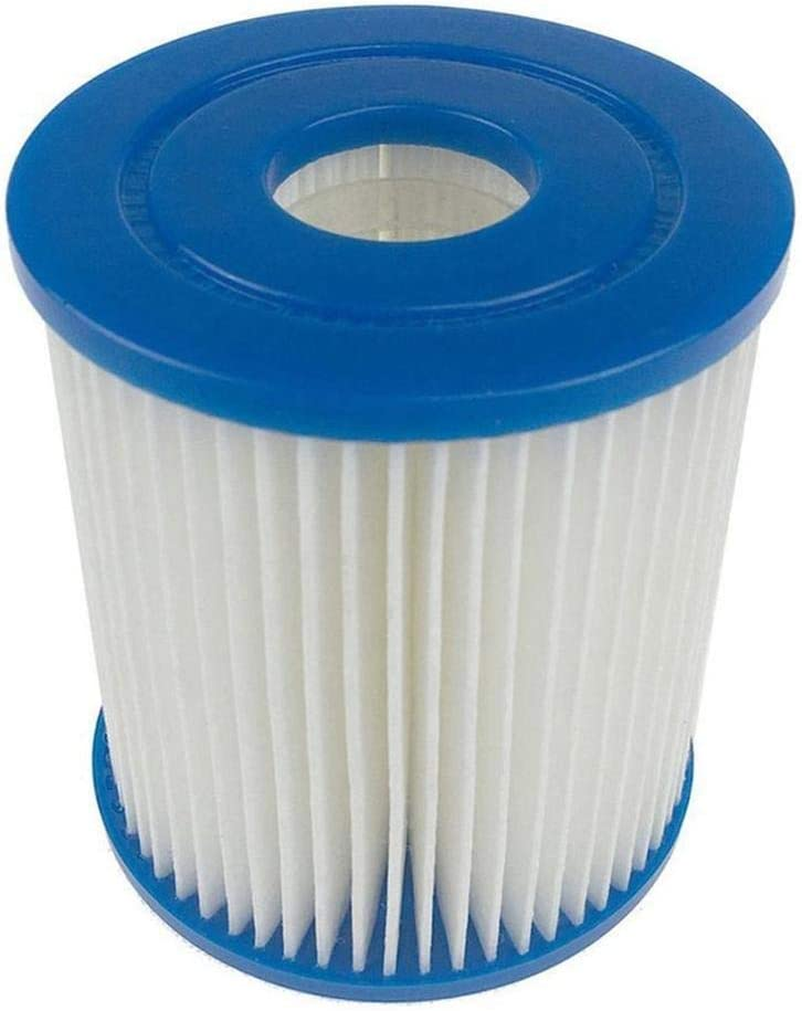 L.J.JZDY Filtro de la Piscina Piscina Espuma Filtro de Esponja Tubular Piscina Skimmer Lavable Espuma limpiadora Piscina Accesorios (Color : White Blue, Size : Gratis)