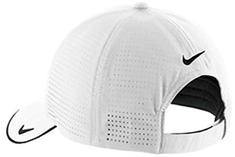 544c80dea0e Image Unavailable. Image not available for. Color  Nike Golf - Dri-FIT  Swoosh Perforated Cap ...