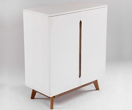 Kitchen Buffet or alcohol Scandinavian Design Aika White and Oak 80 ...