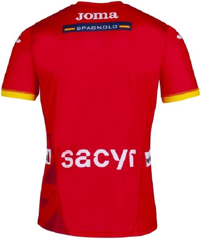 JOMA SPORT 1/ª Camiseta Oficial de la Selecci/ón Espa/ñola de Balonmano Roja