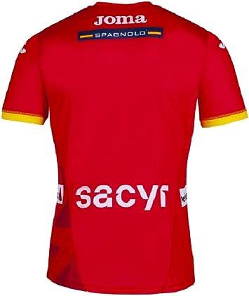 JOMA SPORT 1ª Camiseta Oficial de la Selección Española de Balonmano Roja (M): Amazon.es: Deportes y aire libre