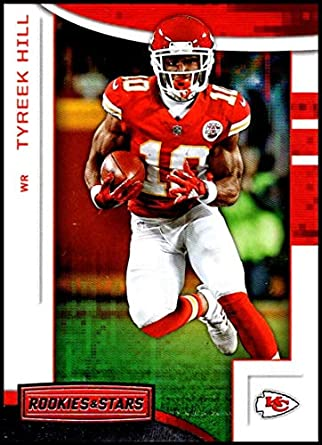 2018 Panini Rookies and Stars  43 Tyreek Hill NM-MT Kansas City Chiefs  Official 034a3f1e1