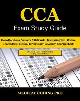 Certified coding associate exam flashcard study system: cca test.