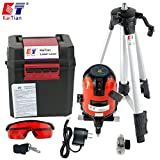 Kaitian KTM331 Self-Leveling Cross Line Laser Level Tool with Laser Tripod