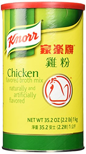 - Knorr Chicken Flavored Broth Mix