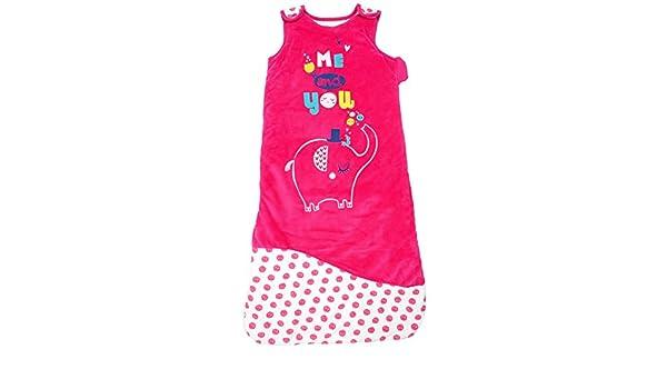 Petit béguin - Saco de dormir de invierno bebé niña hendiduras Me And You rosa Talla:24-36 Monate (112 cm): Amazon.es: Bebé