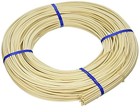 Commonwealth Basket Round Reed #5 3-1/4mm 1-Pound Coil, Approximately 360-Feet - Reed & Barton Airplane