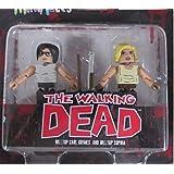 New Beginning Carl & Sophia Walking Dead Minimates