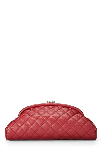 51f0b5225bce Chanel red quilted lambskin timeless clutch pre owned handbags jpg 357x535 Timeless  clutch