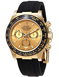 Cosmograph Daytona 18K Yellow Gold Dial Automatic Mens Watch 116518CSR