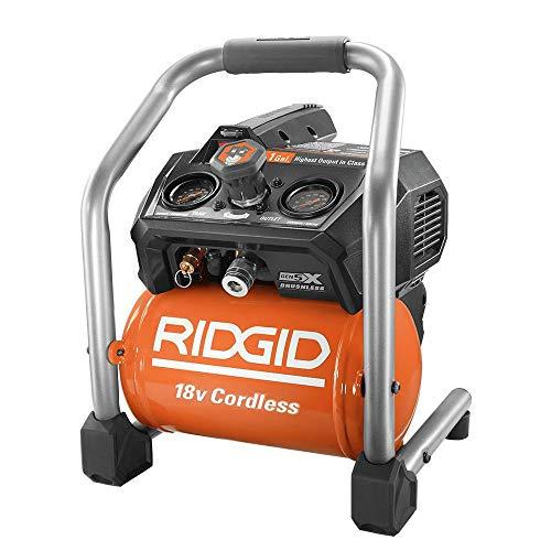 Ridgid ZRR0230 18V 1 gal. Hand Carry Air Compressor