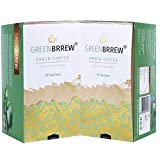 Greenbrrew Healthy 100% Natural Instant Coffee - Manages Blood Sugar Levels, Catalyst for Weight Loss, Reduces Blood Pressure Levels and Protects The Heart - Each Pack 60g (20 Sachets PP) - Pack of 2