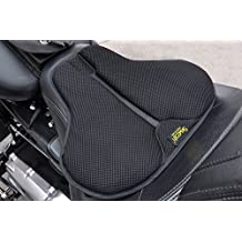 SKWOOSH Touring Saddle Motorcycle Gel Cushion with Cooling Mesh Breathable Fabric | Made in USA