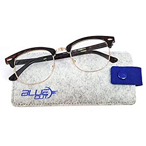 Blue Light Blocking Glasses – Anti-Fatigue, Anti-Glare Computer Glasses – Perfect for Computer, Phone, Tablet, TV Usage – Prevent Headaches and Improve Sleep with UV-Blocking Gamer Glasses by Blue Cut