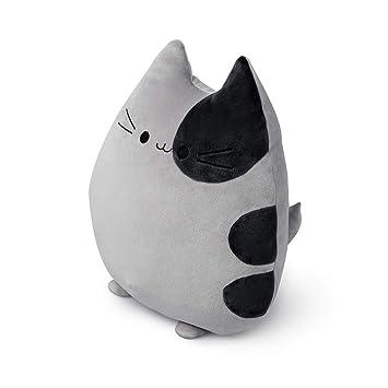 Balvi Cojín Sweet Kitty Color Gris Forma de Gato Suave y Muy Blando Poliéster: Amazon.es: Hogar