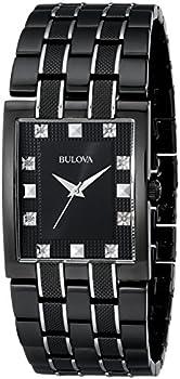 Bulova 98D111 Bracelet Black Dial Men's Watch