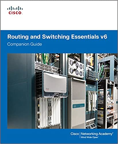Amazon com: Routing and Switching Essentials v6 Companion Guide