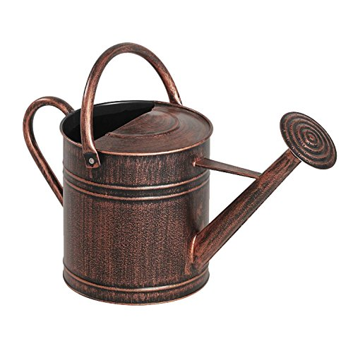 - Panacea 84872 2 Gallon Brushed Bronze Watering Can