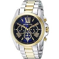 Michael Kors Watches Bradshaw Cronógrafo Acero inoxidable reloj, talla única