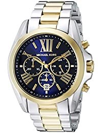 Michael Kors Bradshaw MK5976 Women's Wrist Watches, Blue Dial