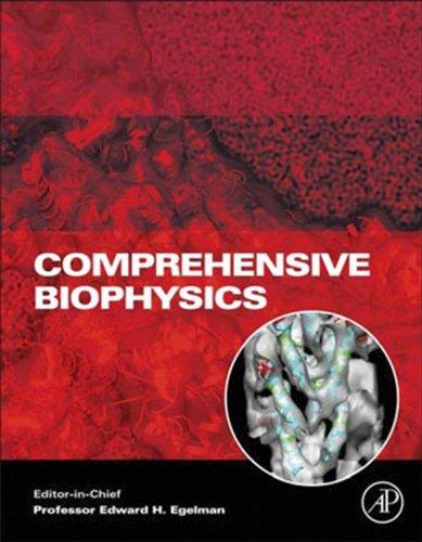 Comprehensive Biophysics Pdf