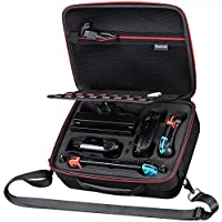 Smatree Hard Carrying Case N600 for Nintendo Switch-Fit for Pro Controller